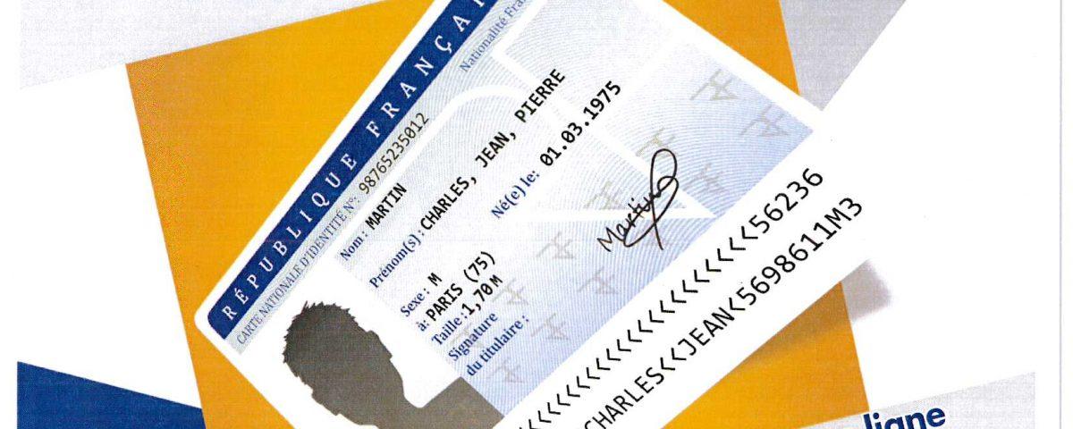 Nouvelle procédure d'instruction des cartes d'identité